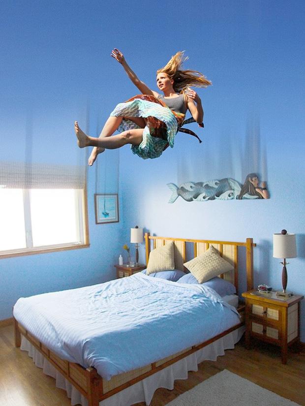 Lý do con người nói mớ, bị bóng đè và mơ rơi tự do khi ngủ - ảnh 4