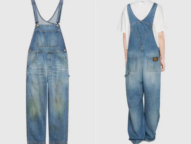 Gucci đang bán những chiếc quần jean ố màu và bẩn trông như mới làm vườn về với giá lên tới 765 USD - Ảnh 3.