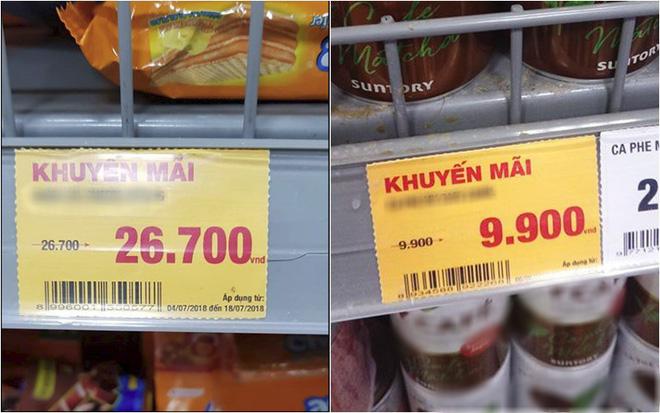 """""""Lừa tình"""" hơn cả ảnh mạng chính là những tấm bảng giá treo đầy từ ngoài đường vào trong siêu thị, tinh mắt lắm mới nhận ra mánh khoé - Ảnh 15."""