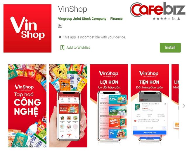 """Cú bạo tay của Vingroup: Chi 750.000 đồng/đại lý/tháng để trưng biển VinShop, hơn 9 triệu/tháng để acquire users và nước cờ """"không thể đùa với cái đầu tỷ phú"""" - Ảnh 1."""