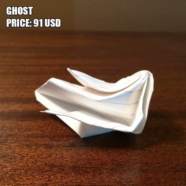 Anh chàng kiếm bộn tiền nhờ bán các kiệt tác origami phong cách cực lú - Ảnh 11.