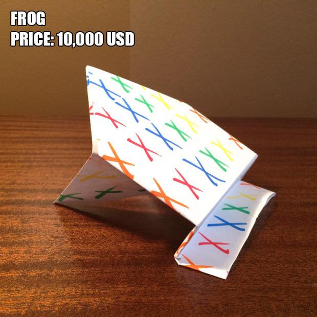 Anh chàng kiếm bộn tiền nhờ bán các kiệt tác origami phong cách cực lú - Ảnh 12.