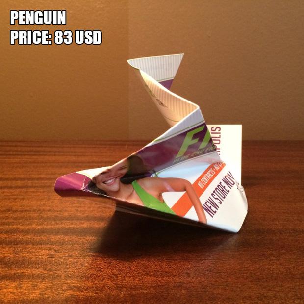 Anh chàng kiếm bộn tiền nhờ bán các kiệt tác origami phong cách cực lú - Ảnh 16.