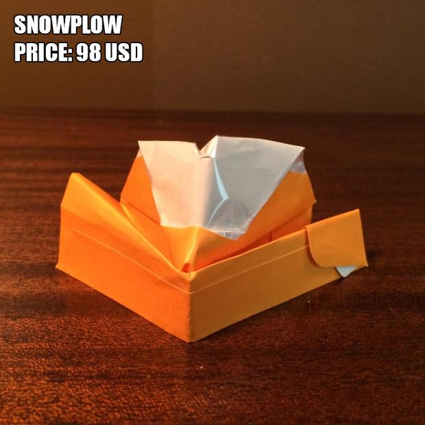 Anh chàng kiếm bộn tiền nhờ bán các kiệt tác origami phong cách cực lú - Ảnh 3.