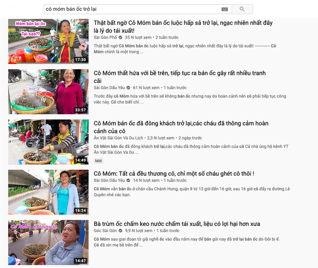 """Người phụ nữ bán ốc luộc hot nhất Sài Gòn bị dân mạng chỉ trích dữ dội vì """"tự phá bỏ lời thề"""", gian dối với khán giả YouTube? - Ảnh 8."""