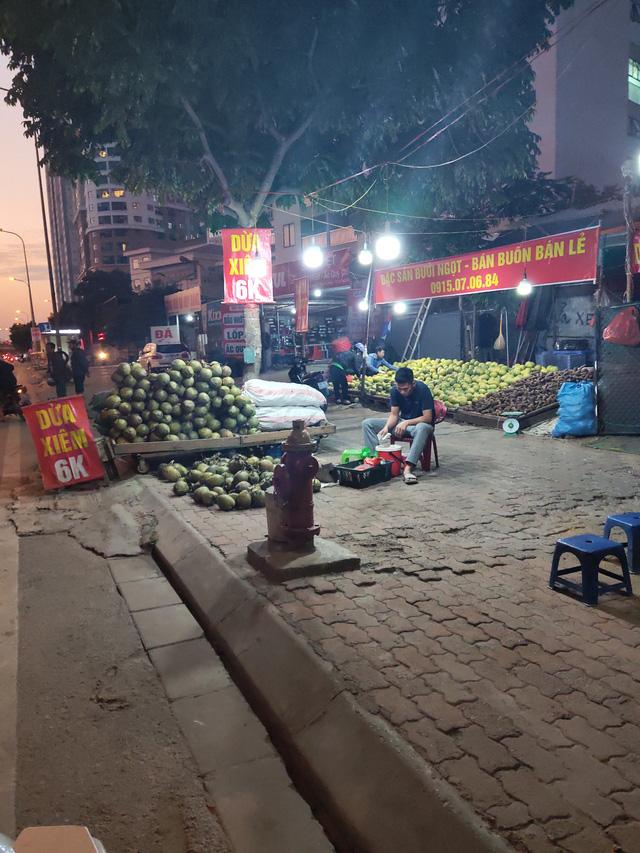 Trái cây Việt giá rẻ chưa từng có tràn lan khắp vỉa hè Hà Nội - Ảnh 2.