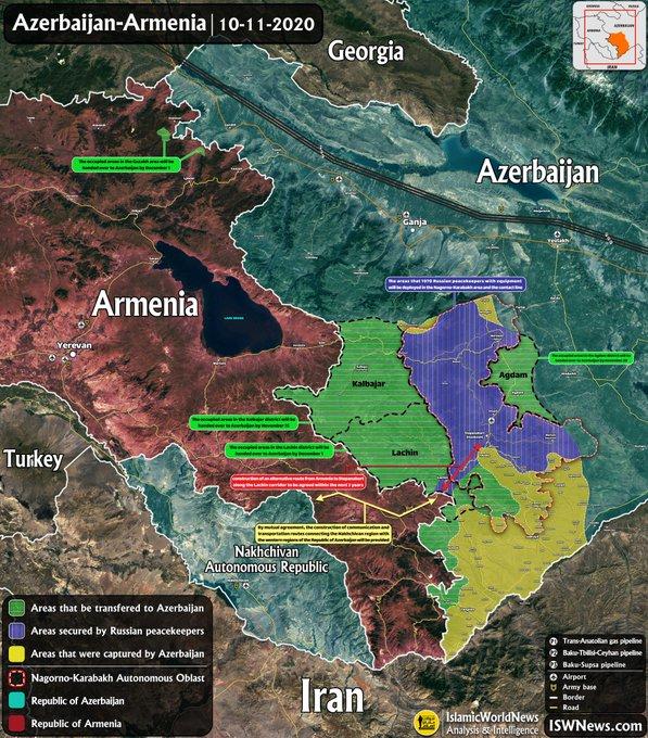Tổng thống Azerbaijan ra tuyên bố quan trọng - Lực lượng Armenia phòng thủ Karabakh đón tin xấu - Ảnh 1.