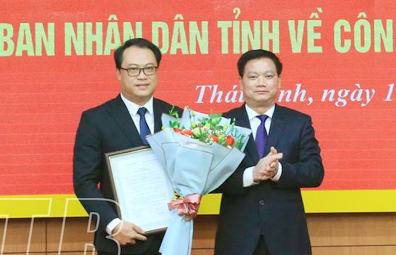 Thái Bình bổ nhiệm Trưởng Ban Nội chính, Chánh Văn phòng UBND tỉnh - Ảnh 1.