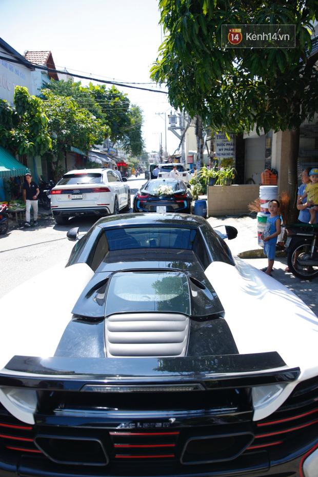 Dàn xe hơn 20 tỷ trong đám cưới streamer giàu nhất Việt Nam, nổi nhất là xe chú rể và em họ Diệp Lâm Anh - ảnh 3