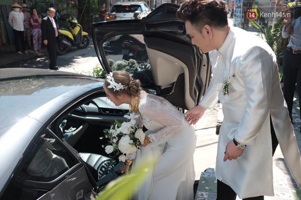 Dàn xe hơn 20 tỷ trong đám cưới streamer giàu nhất Việt Nam, nổi nhất là xe chú rể và em họ Diệp Lâm Anh - ảnh 8