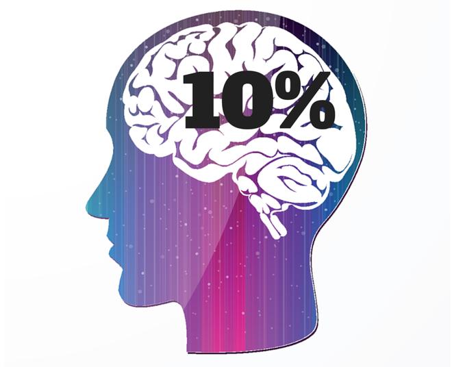 Sự thật về khẳng định con người chỉ dùng 10% sức mạnh não bộ - Ảnh 1.
