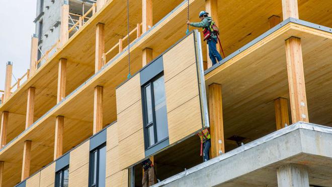 Nghiên cứu Châu Âu khuyến khích làm nhà, xây chung cư bằng gỗ để bảo vệ môi trường - Ảnh 3.
