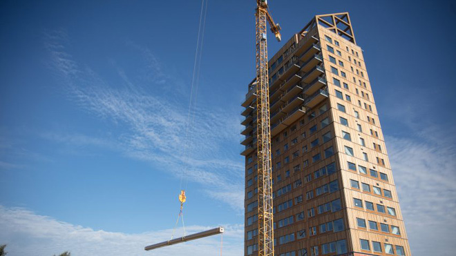 Nghiên cứu Châu Âu khuyến khích làm nhà, xây chung cư bằng gỗ để bảo vệ môi trường - Ảnh 4.