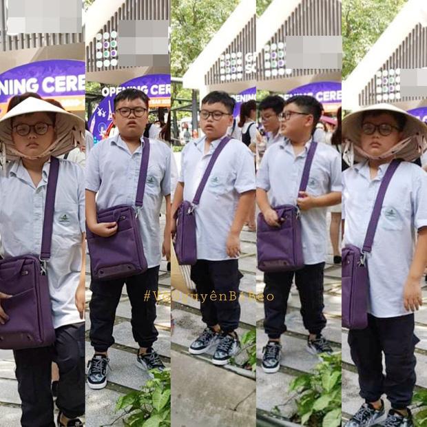 Con trai Xuân Bắc mặt đờ đẫn, quần áo xộc xệch 6 năm trước thay đổi ngoạn mục với style Chủ tịch - Ảnh 4.