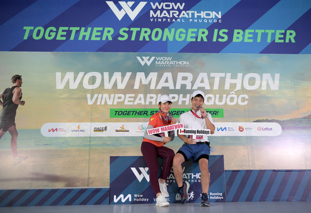 Runner nói gì về trải nghiệm kỳ nghỉ thể thao với giải chạy WOW Marathon Vinpearl Phú Quốc: Tôi như vỡ oà vì được chạy ở cung đường tuyệt đẹp! - Ảnh 9.