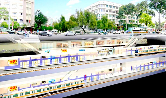TP.HCM muốn xây dựng ngầm đô thị trung tâm hiện hữu mở rộng 930 ha và khu đô thị mới Thủ Thiêm - Ảnh 1.