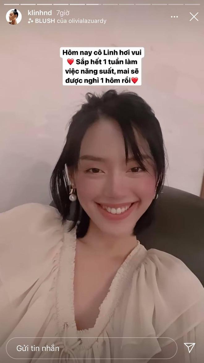 Đọ sắc với con gái tỷ phú, Khánh Linh để lộ vóc dáng gầy gò khiến fan lo lắng - Ảnh 4.