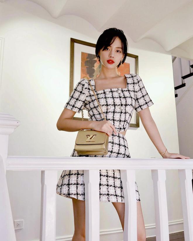 Đọ sắc với con gái tỷ phú, Khánh Linh để lộ vóc dáng gầy gò khiến fan lo lắng - Ảnh 5.
