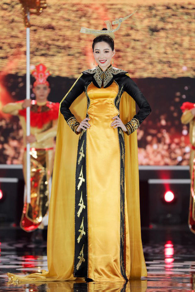 Đặng Thu Thảo gây sốt với loạt ảnh tái xuất tại Chung kết Hoa Hậu Việt Nam 2020, thế nào mà cả dàn sao Vbiz phải trầm trồ? - Ảnh 9.