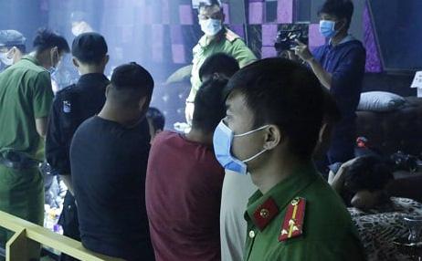 74 người dương tính với ma túy trong quán bar ở Bình Dương
