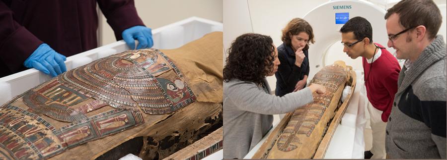Đưa 3 xác ướp Ai Cập vào máy chụp CT, những bức ảnh bóc trần sự thật giấu kín 3000 năm - Ảnh 3.
