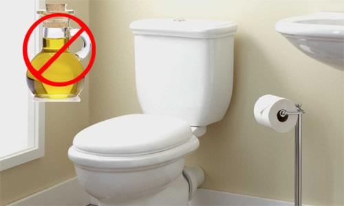 Lý do bạn không được đổ thức ăn dầu mỡ vào toilet - Ảnh 1.