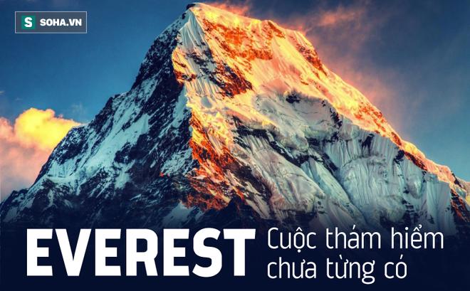 Cuộc thám hiểm chưa từng có trên đỉnh Everest: Phát hiện những thứ không thể tưởng tượng