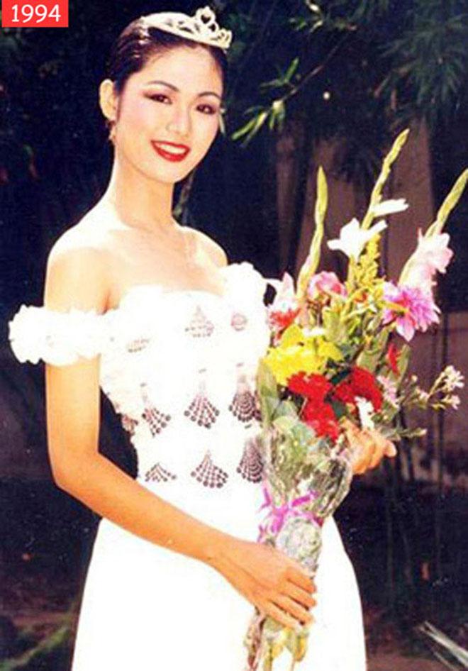 Sắc vóc tuổi 44 của cựu Hoa hậu Việt Nam có vòng eo hấp dẫn nhất - Ảnh 1.