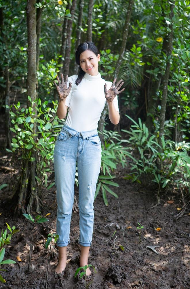 Gia cảnh của Thái Thị Hoa - đại diện Việt Nam thi Miss Earth ở Hưng Yên - Ảnh 2.