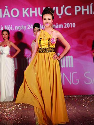"""Sắc vóc của vợ hai Cường Đô la thời thi """"Hoa hậu Việt Nam"""" - Ảnh 5."""