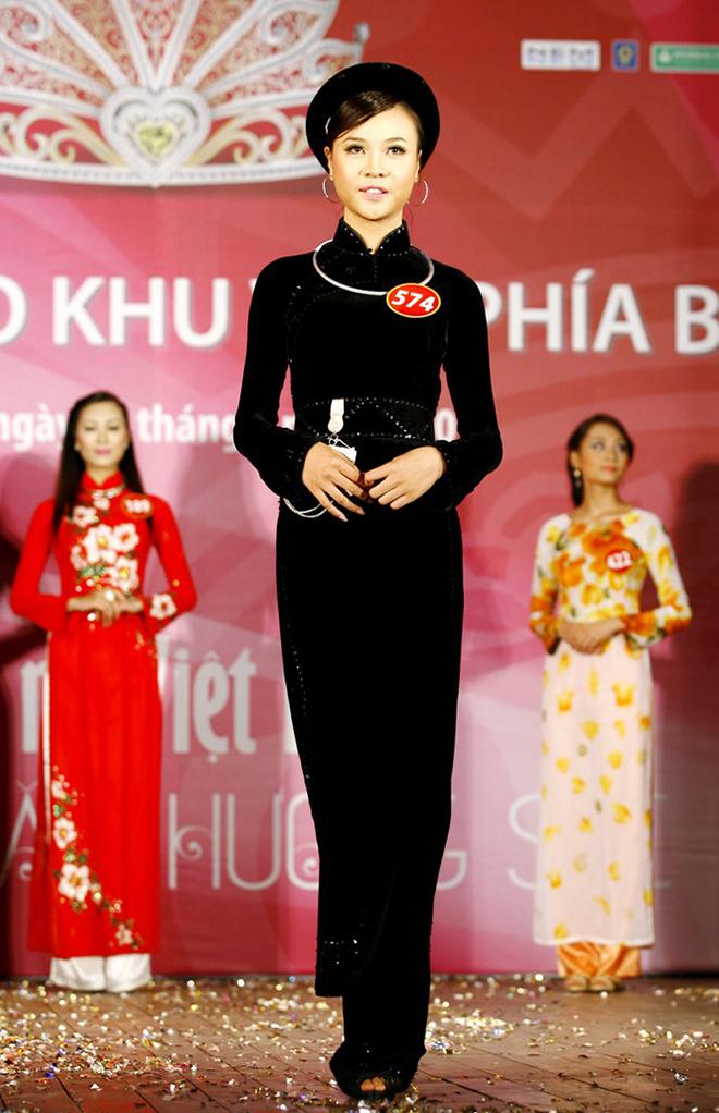 """Sắc vóc của vợ hai Cường Đô la thời thi """"Hoa hậu Việt Nam"""" - Ảnh 4."""