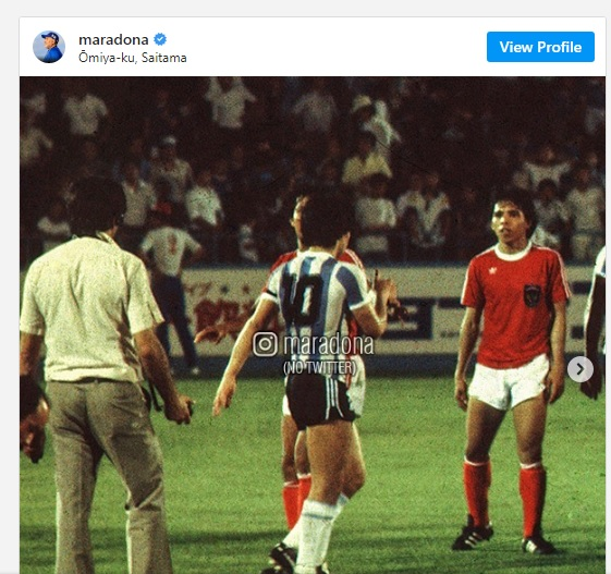"""Trước khi qua đời, Maradona đột nhiên nhớ lại lần """"xé lưới"""" một đội tuyển ở… Đông Nam Á - Ảnh 3."""