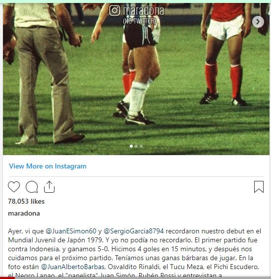 """Trước khi qua đời, Maradona đột nhiên nhớ lại lần """"xé lưới"""" một đội tuyển ở… Đông Nam Á - Ảnh 4."""