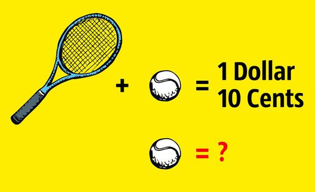 Câu đố đơn giản nhưng 99% mọi người trả lời sai: Quả bóng có giá bao nhiêu xu? - Ảnh 2.