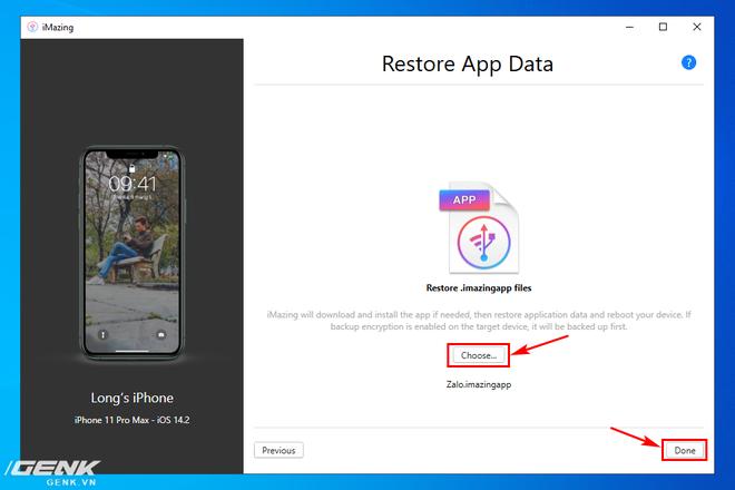Hướng dẫn sao lưu, khôi phục dữ liệu ứng dụng trên iPhone và iPad - Ảnh 21.