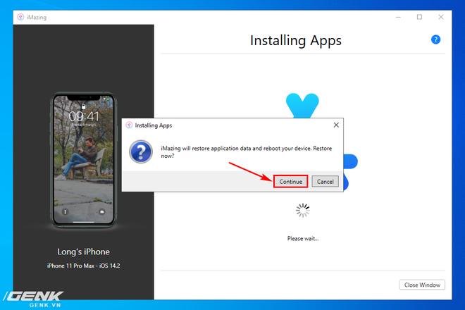 Hướng dẫn sao lưu, khôi phục dữ liệu ứng dụng trên iPhone và iPad - Ảnh 22.