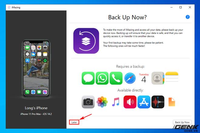 Hướng dẫn sao lưu, khôi phục dữ liệu ứng dụng trên iPhone và iPad - Ảnh 9.