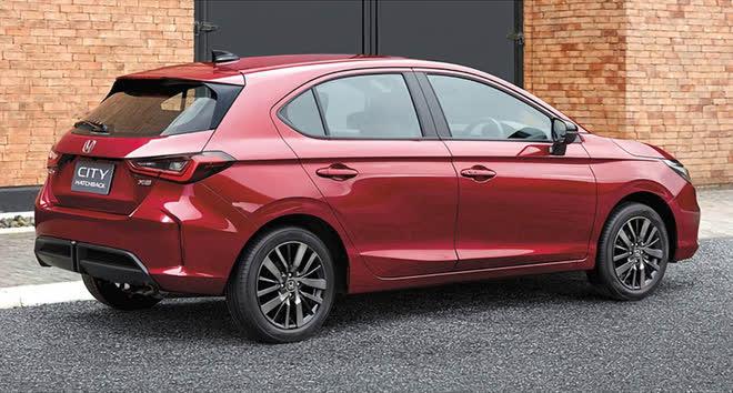 Cận cảnh Honda City hatchback thế hệ mới vừa ra mắt - Ảnh 2.