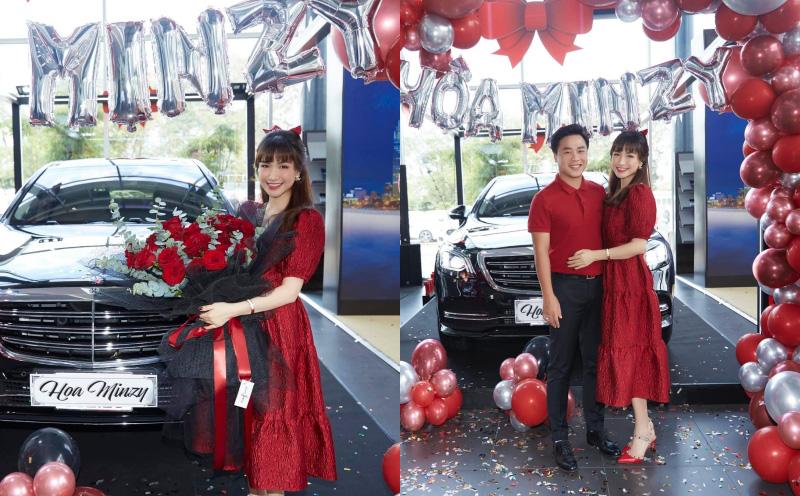 Hoà Minzy hé lộ lý do tự mua ô tô, không cần tiền của chồng đại gia
