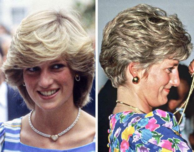 Công nương Diana rất tự ti về chiếc mũi của mình