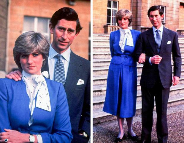 Công nương Diana thường phải đi giày bệt để không lấn át chồng mình