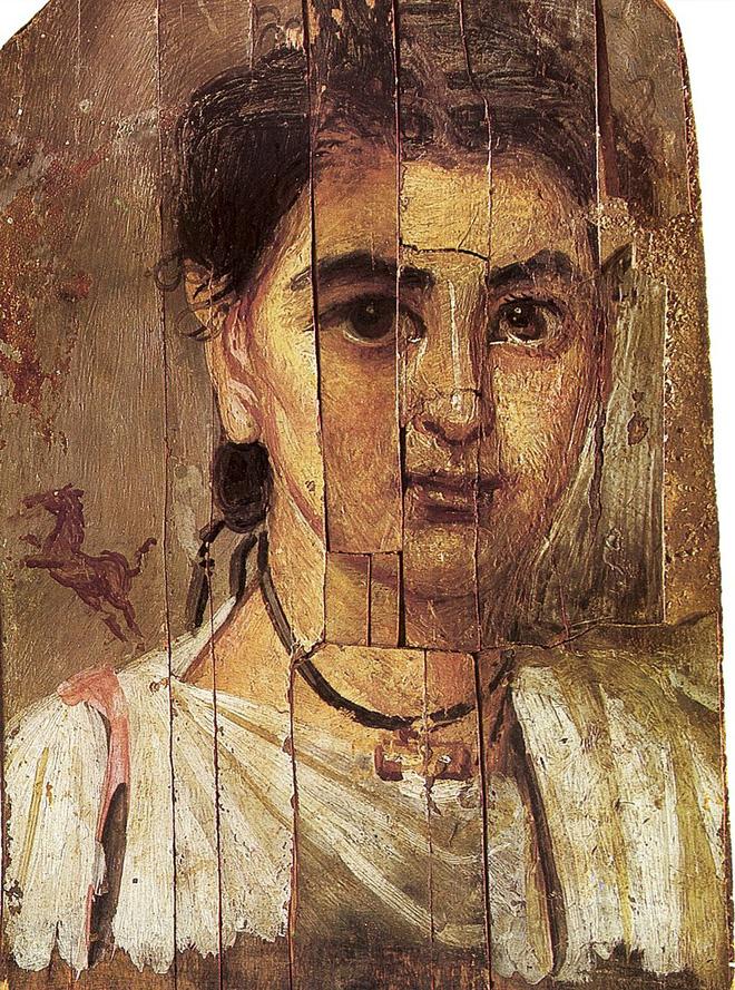 Bí ẩn bên trong những xác ướp có khuôn mặt người thật ở Ai Cập - Ảnh 1.