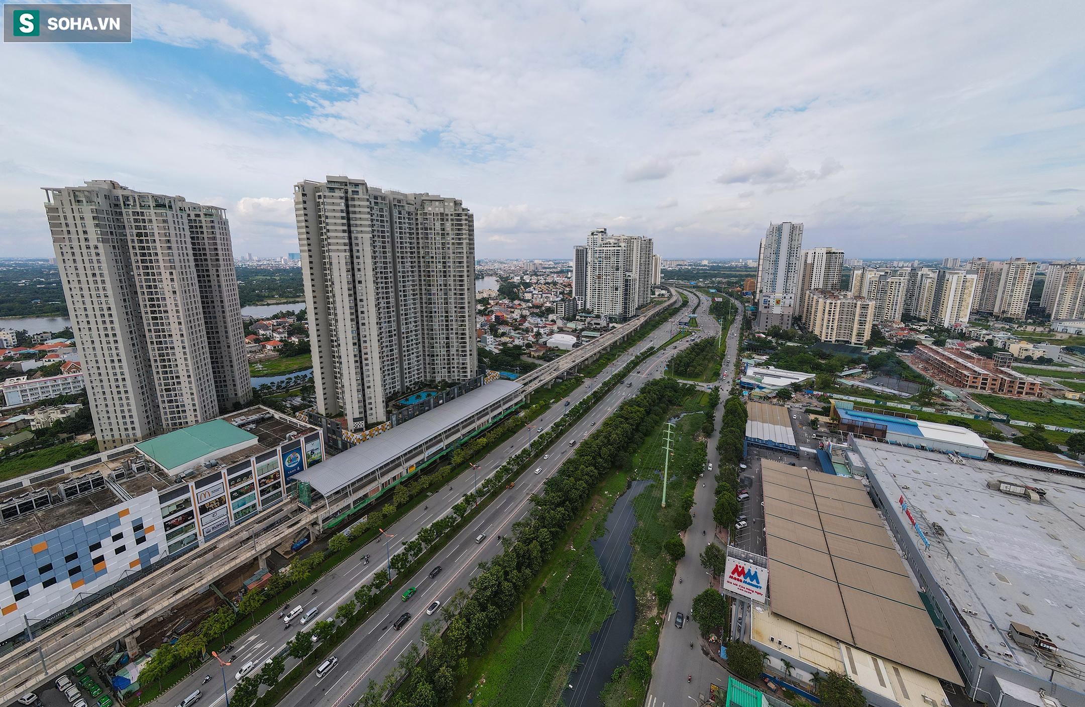 Cao ốc, chung cư vây chặt metro số 1, giao thông khu Đông TP.HCM bắt đầu ngạt thở - Ảnh 1.