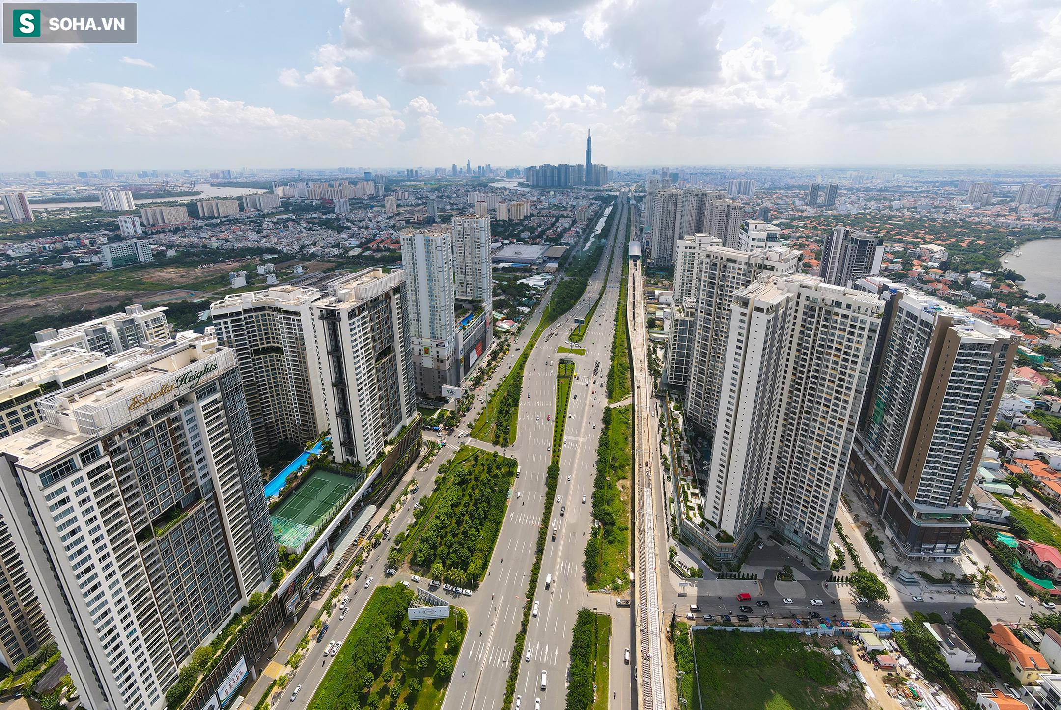 Cao ốc, chung cư vây chặt metro số 1, giao thông khu Đông TP.HCM bắt đầu ngạt thở - Ảnh 9.