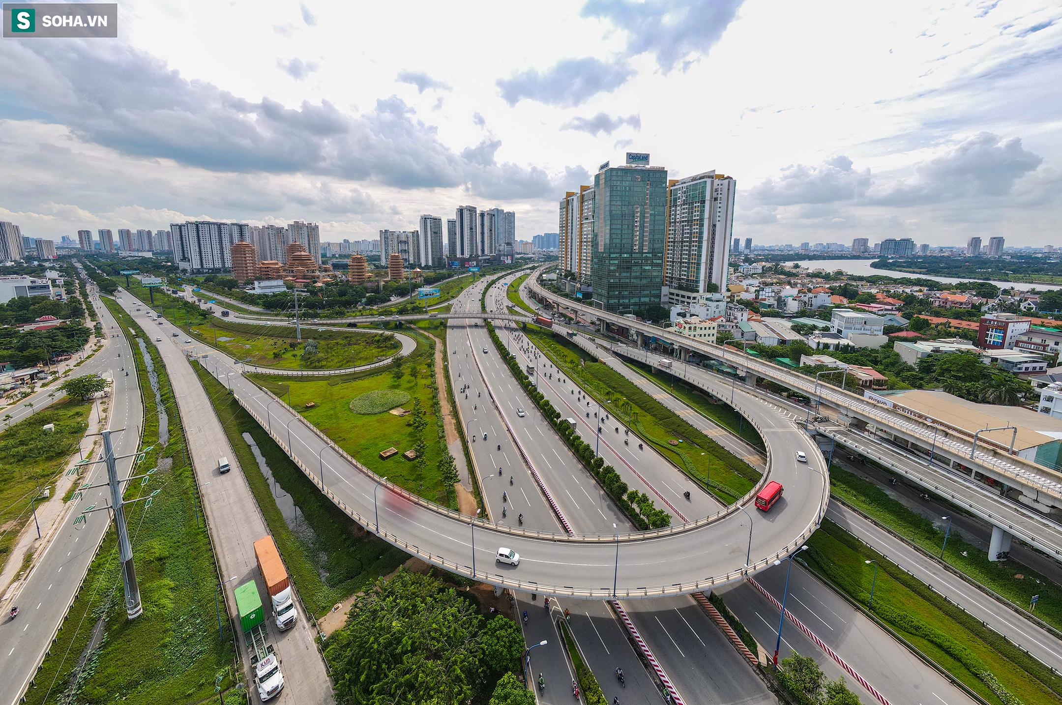 Cao ốc, chung cư vây chặt metro số 1, giao thông khu Đông TP.HCM bắt đầu ngạt thở - Ảnh 5.