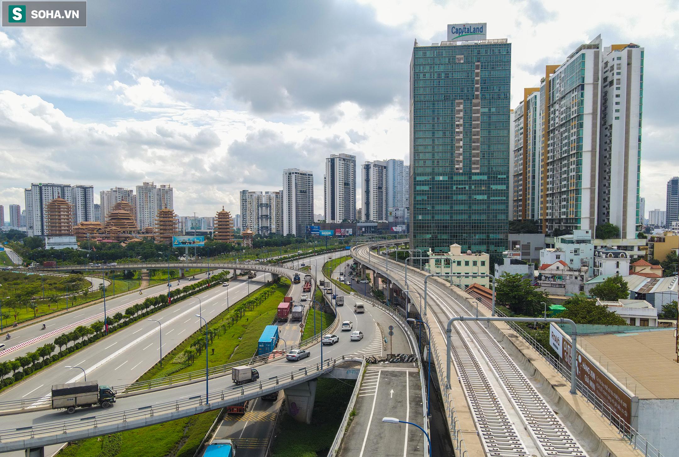 Cao ốc, chung cư vây chặt metro số 1, giao thông khu Đông TP.HCM bắt đầu ngạt thở - Ảnh 7.