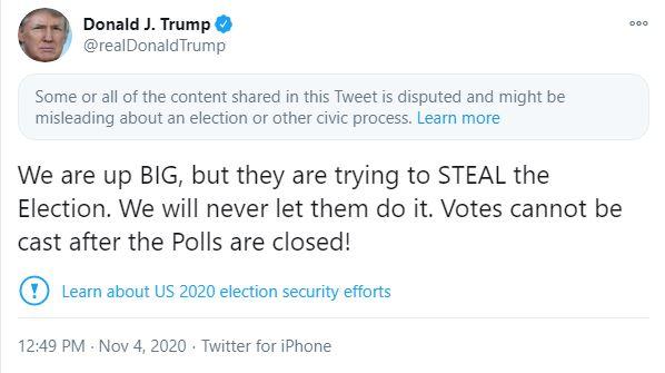 TT Trump vừa đăng một dòng tweet chỉ trích phe Dân chủ, nhưng lại phải... xóa vội, lý do là gì? - Ảnh 2.