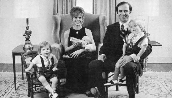 Điều ít biết về người vợ xấu số có ảnh hưởng lớn đến sự nghiệp của Joe Biden - Ảnh 1.