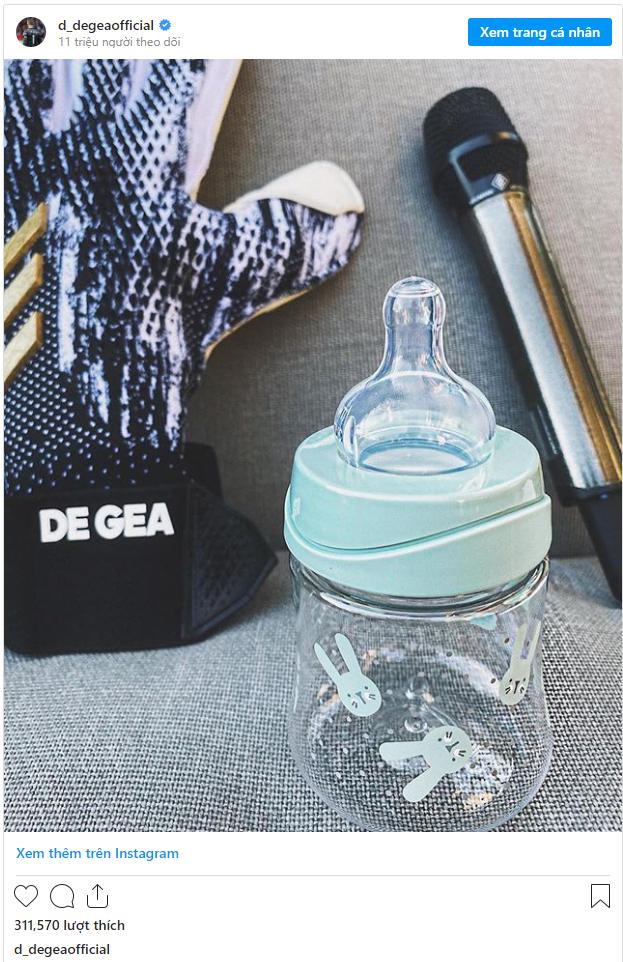 Giữa cơn khủng hoảng của Man United, De Gea đón tin vui lớn cùng bạn gái xinh đẹp - Ảnh 1.