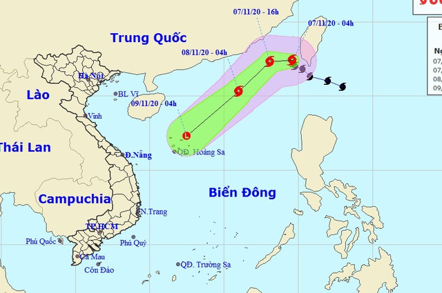 Sau bão Atsani giật cấp 12, Biển Đông có thể xuất hiện thêm 2 cơn bão hướng vào Trung Bộ - Ảnh 2.